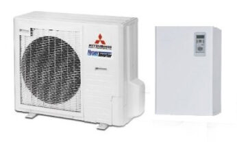 Mitsubishi Heavy FDC 100 VNX / 110H1 тепловий насос повітря-вода