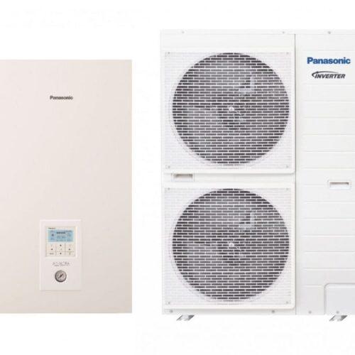 Panansonic KIT-WQC09H3E8 Тепловой насос воздух-вода