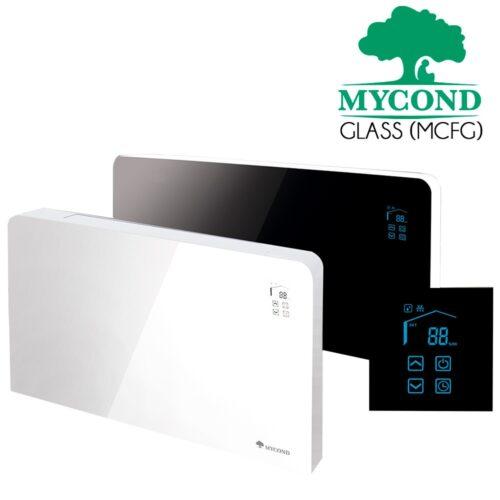 Фанкойлы Mycond серия ART GLASS к тепловым насосам воздух-вода