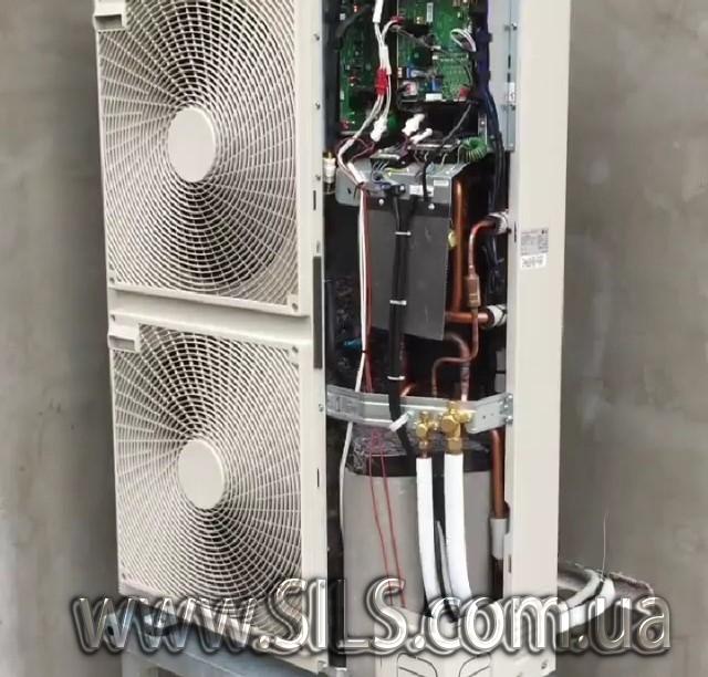 Установка теплового насоса  LG Therma V -HN1616.NK3, HU161.U33