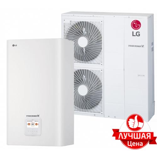 LG Therma V — HN1639.NK3, HU143.U33 Инверторный тепловой насос воздух-вода (380 V, 3ф) ( 14 кВт)
