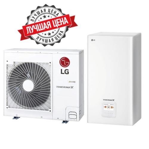 LG Therma V — HN1616.NK3, HU091.U43 Инверторный тепловой насос воздух-вода (220 V) (9 кВт)