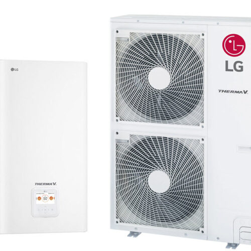 LG Therma V — HN1639.NK3, HU163.U33 Инверторный тепловой насос воздух-вода (380 V, 3ф) (16 кВт)