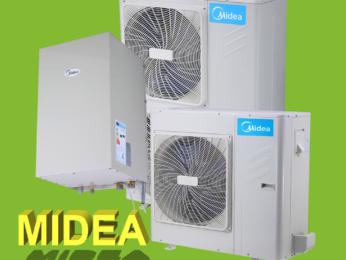 Midea M-Thermal тепловые насосы воздух-вода