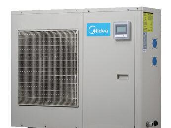 Тепловой насос MIDEA - моноблок - для подогрева воды в бассейнах