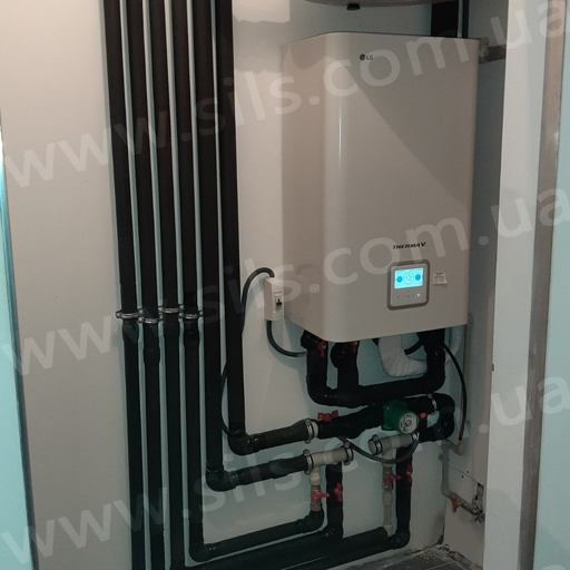 Установка теплового насоса LG – HN1616.NK3, HU121.U33 (12 кВт 1 фаза) в м Дніпро