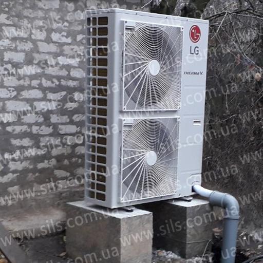 Установка теплового насоса  LG — HN1639.NK3, HU143.U33  (14 к Вт 3 фазы)