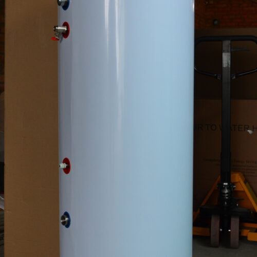 Бак-накопичувач Raymer BC200 на 200 літрів (Буферна ємність), вбудований анод, нержавіючий бак з утеплювачем