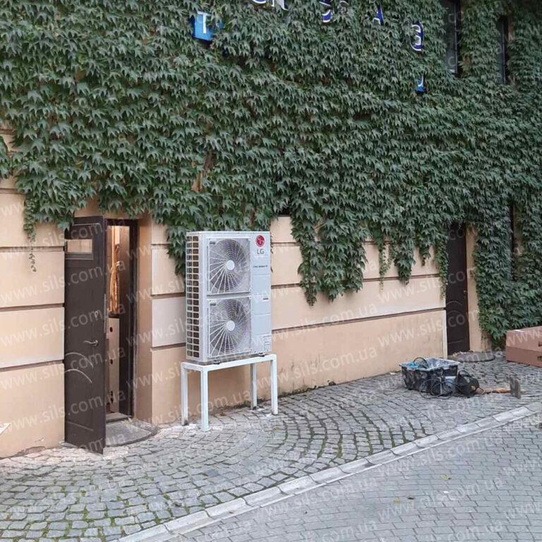Установка теплового насоса  LG  HU141.U33 + HN1616 NK3 (1ф) — 14 кВт в г.Запорожье