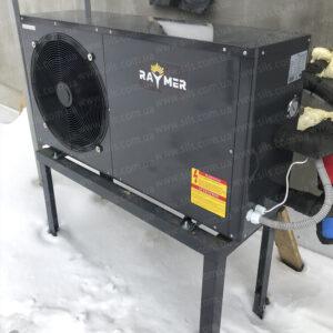 Тепловой насос воздух-вода (моноблок) RAYMER FA-03 11кВт. Установка в г. Киев