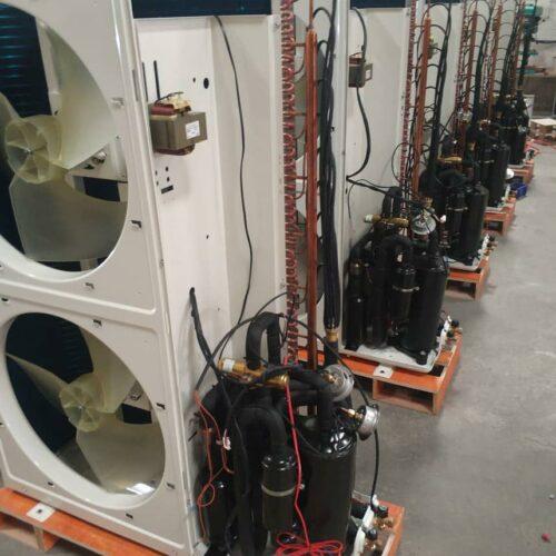 Raymer RAY-18DS1-EVI (380V) инверторный тепловой насос воздух-вода, хладагент R410a, мощность 18кВт, гарантия 5 лет на компрессор