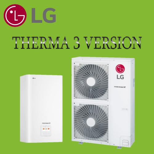 LG Therma V теплові насоси повітря-вода 3 покоління