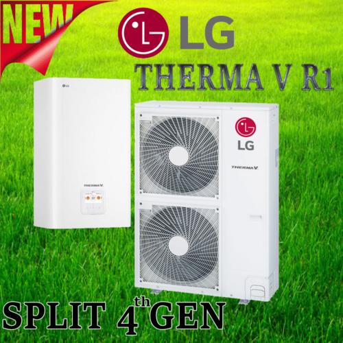LG Therma V теплові насоси повітря-вода 4 покоління з вдосконаленим компрессором R1.